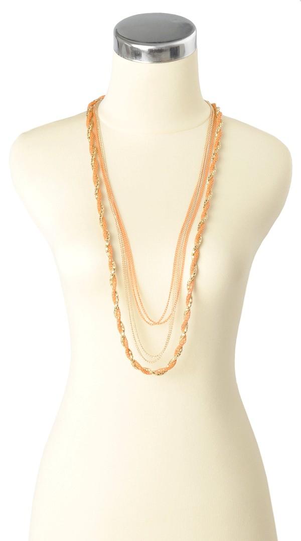 Shailla Necklace Orange