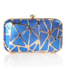 Netz Clutch Blue