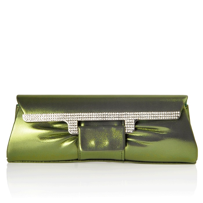 Blaire Clutch Green
