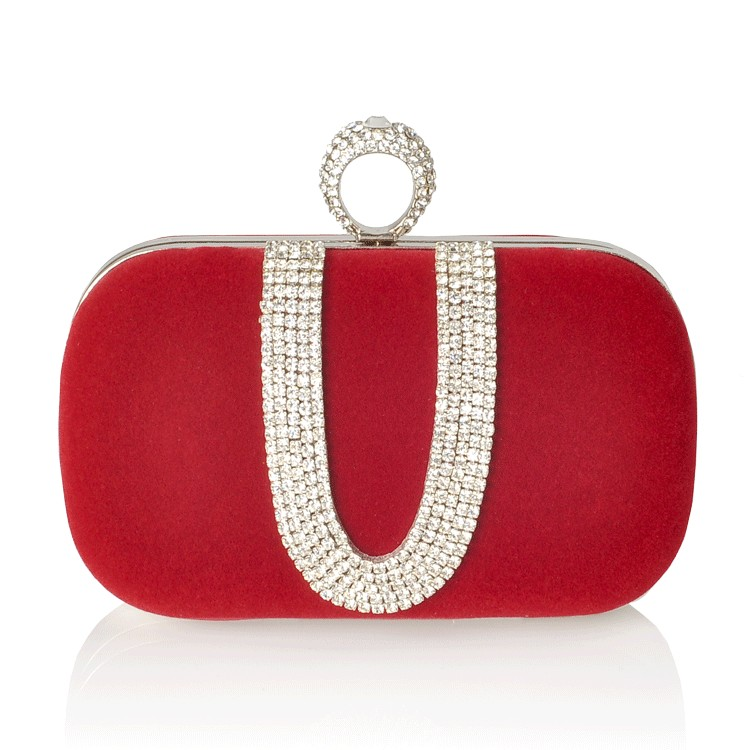 Kerry Clutch Red