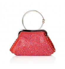 Vione Bridemaids Clutch Red