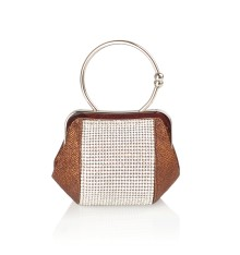 Yoonia Clutch Brown
