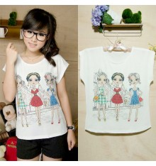 Three Fashion Girls T-Shirt