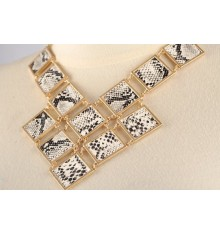 Arlita Snakeskin Necklace
