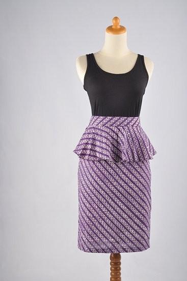 Peplum Skirt Batik Aira