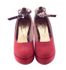Sepatu Batik Arimbi Wedges