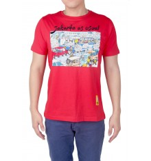 "Kaos Comical Tee ""Jakarta As Usual"""