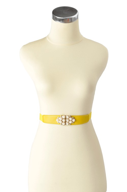 Pearlita Belt Yellow