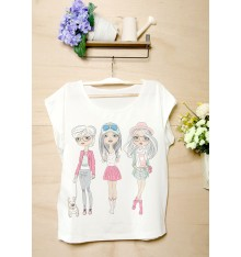 Three Pretty Girls T-Shirt