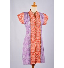 Batik Dress Pendek Listy