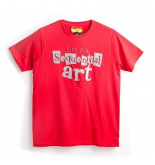 Comical Tee Life is Sequential Art