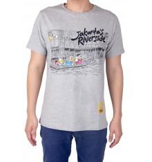 """Kaos Comical Tee """"Jakarta's Riverside"""""""